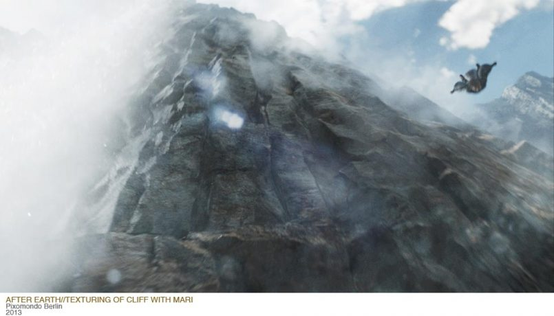 Matte Painting for After Earth