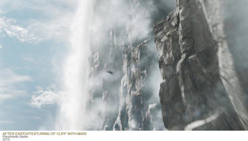 Matte Painting for M. Night Shyamalans Sci-Fi-Movie After Earth