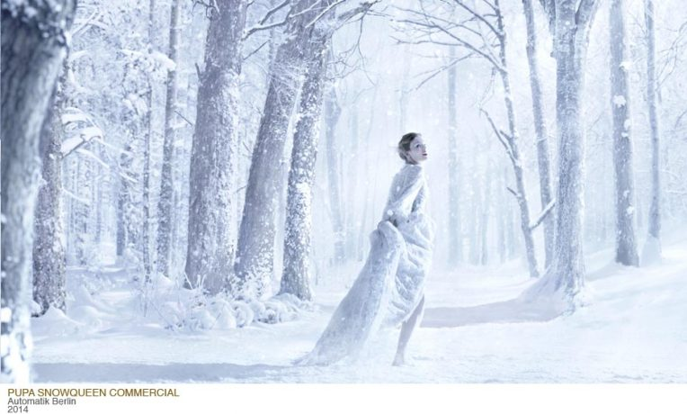 Matte Painting for Pupa Sbowqueen Christmas Commercial 2014